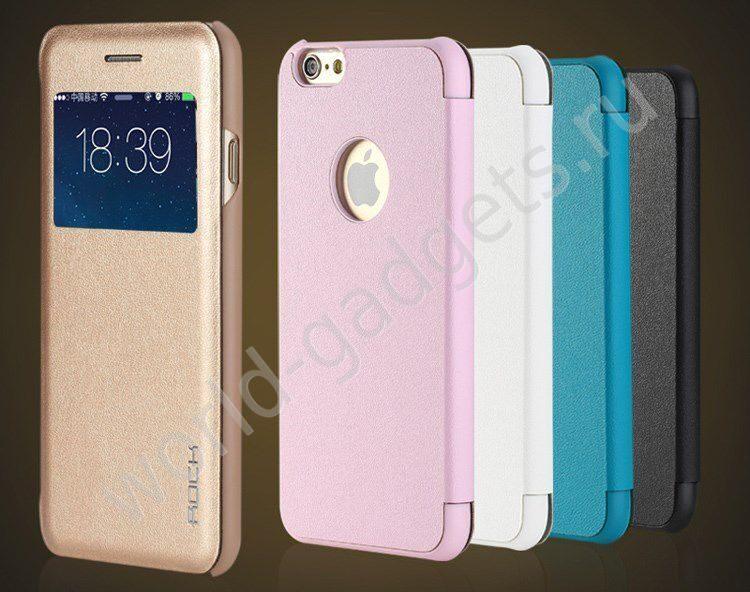 чехол rock uni розовый для iphone 6 plus как ответить на звонок не открывая