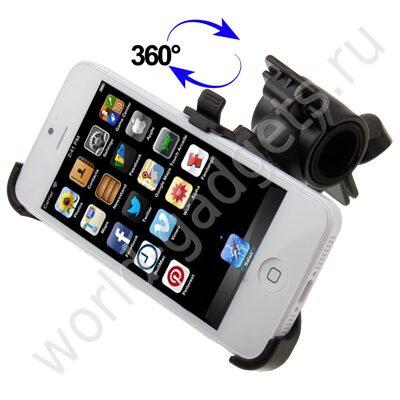 Велосипедный/мотоциклетный держатель для iPhone 5 03797