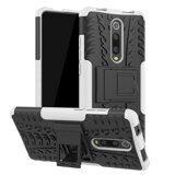 Чехол Hybrid Armor для Xiaomi Mi 9T Pro (черный + белый)
