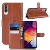 Чехол для Samsung Galaxy A50 (коричневый)
