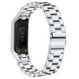 Стальной браслет для для Samsung Galaxy Fit E SM-R375 (серебряный)