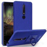 Чехол iMak Finger для Nokia 6.1 (голубой)