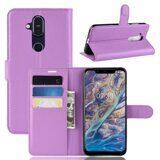 Чехол для Nokia 8.1 (фиолетовый)