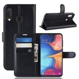Чехол для Samsung Galaxy A20e (черный)
