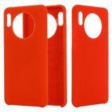 Силиконовый чехол Mobile Shell для Huawei Mate 30 Pro (красный)