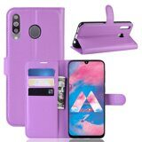 Чехол для Samsung Galaxy A40s (фиолетовый)