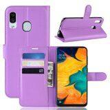 Чехол для Samsung Galaxy A30 / A20 (фиолетовый)