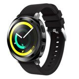 Силиконовый ремешок для Samsung Watch Active2 44мм. (черный)
