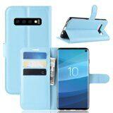 Чехол для Samsung Galaxy S10 (голубой)