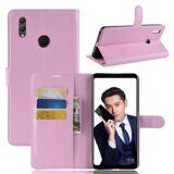 Чехол с визитницей для Huawei Honor Note 10 (розовый)