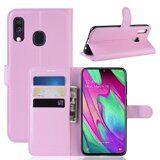 Чехол для Samsung Galaxy A40 (розовый)