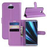 Чехол для Sony Xperia 10 Plus (фиолетовый)