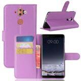 Чехол с визитницей для Nokia 8 Sirocco (фиолетовый)