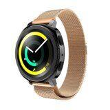 Миланский сетчатый браслет Luxury для Samsung Watch Active2 44мм. (розовое золото)