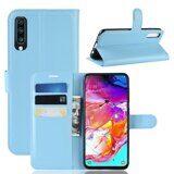 Чехол для Samsung Galaxy A70 (голубой)