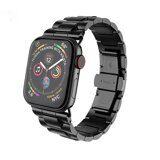 Стальной браслет HOCO Premium для Apple Watch 44 - Series 4 / Series 3 / 2 / 1 (42мм) (черный)