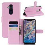 Чехол для Nokia 8.1 (розовый)