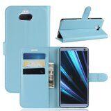Чехол для Sony Xperia 10 (голубой)