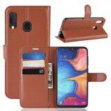 Чехол для Samsung Galaxy A20e (коричневый)