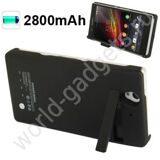 Внешнее зарядное устройство 2800mAh для Sony Xperia Z (черное)