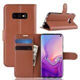 Чехол для Samsung Galaxy S10e (коричневый)