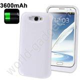 Внешнее зарядное устройство для Samsung Galaxy Note 2 (3600mAh) белое