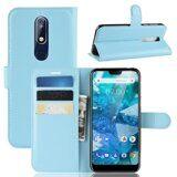 Чехол для Nokia 7.1 (голубой)