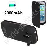 Внешнее зарядное устройство 2000mAh для Samsung Galaxy S3 mini / i8190 (черное)