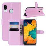 Чехол для Samsung Galaxy A30 / A20 (розовый)