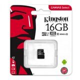 Карта памяти Micro SD 16Gb Kingston Class 10 без адаптера
