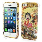 Чехол TPU для iPhone 5 (One Piece Luffy)