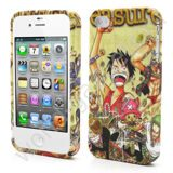 Чехол TPU для iPhone 4 / 4s (One Piece Luffy)