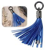 Брелок Remax Tassels Ring Lighting для iPhone / iPad / iPod Touch (голубой)