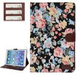 Чехол Flower Cloth для iPad Air (черный)