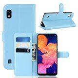 Чехол для Samsung Galaxy A10 (голубой)