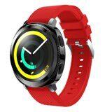 Силиконовый ремешок для Samsung Watch Active2 44мм. (красный)