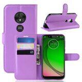 Чехол для Motorola Moto G7 Play (фиолетовый)