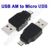 USB AM-USB micro 5pin адаптер