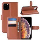 Чехол для iPhone 11 Pro Max (коричневый)