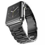 Стальной браслет Solid Stainless для Apple Watch 44 и 42мм (черный)