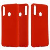 Силиконовый чехол Mobile Shell для Samsung Galaxy A10s (красный)