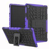 Чехол Hybrid Armor для Huawei MediaPad M5 lite 10 (черный + фиолетовый)