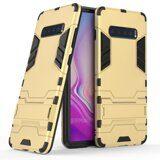 Чехол Duty Armor для Samsung Galaxy S10+ (Plus) (золотой)