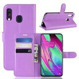 Чехол для Samsung Galaxy A40 (фиолетовый)
