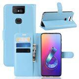 Чехол для Asus Zenfone 6 ZS630KL (голубой)