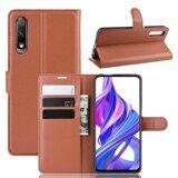 Чехол для Huawei Honor 9X Pro (коричневый)