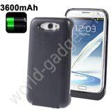 Внешнее зарядное устройство для Samsung Galaxy Note 2 (3600mAh) черное
