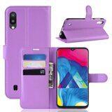 Чехол для Samsung Galaxy M10 (фиолетовый)