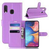 Чехол для Samsung Galaxy A20e (фиолетовый)