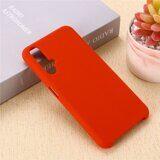 Силиконовый чехол Mobile Shell для Huawei nova 5T (красный)